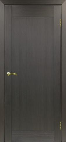 Дверь Optima Porte Тренто 301.1, цвет венге, глухая