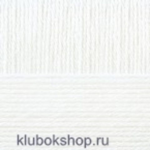 Пряжа Элегантная (Пехорка) 01 Белый - купить в интернет-магазине недорого klubokshop.ru