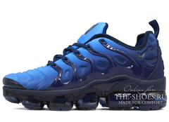 Кроссовки Мужские Nike Air Vapor Max Plus Obsidian Blue