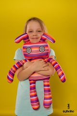 Подушка-игрушка антистресс «Инопланетный гость» 2