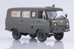 UAZ-452A sanitary ambulance 1965-1985 1:43 DeAgostini Auto Legends USSR #244