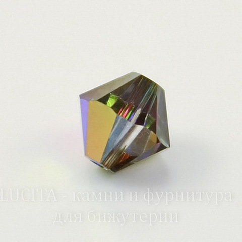 5328 Бусина - биконус Сваровски Crystal Vitrail Medium  6 мм, 5 штук ()