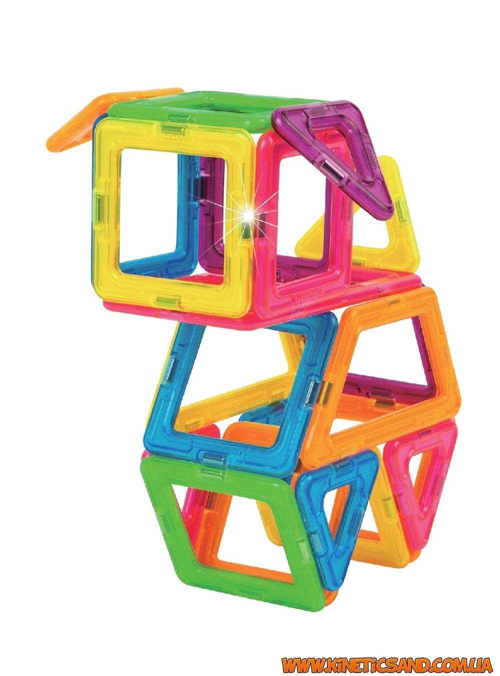 Magformers Неоновые цвета, 60 элементов