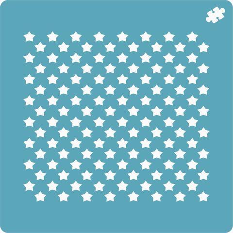 Трафарет Звезды 2