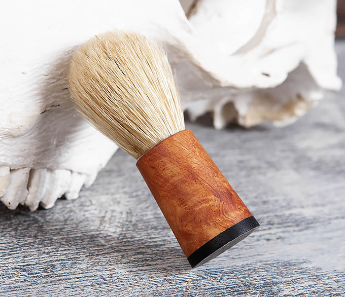 RAZ384 Помазок с рукояткой ручной работы из дерева фото 03