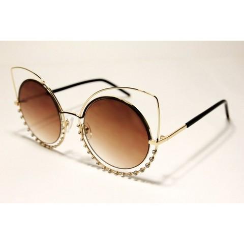 Солнцезащитные очки 648002s Коричневые