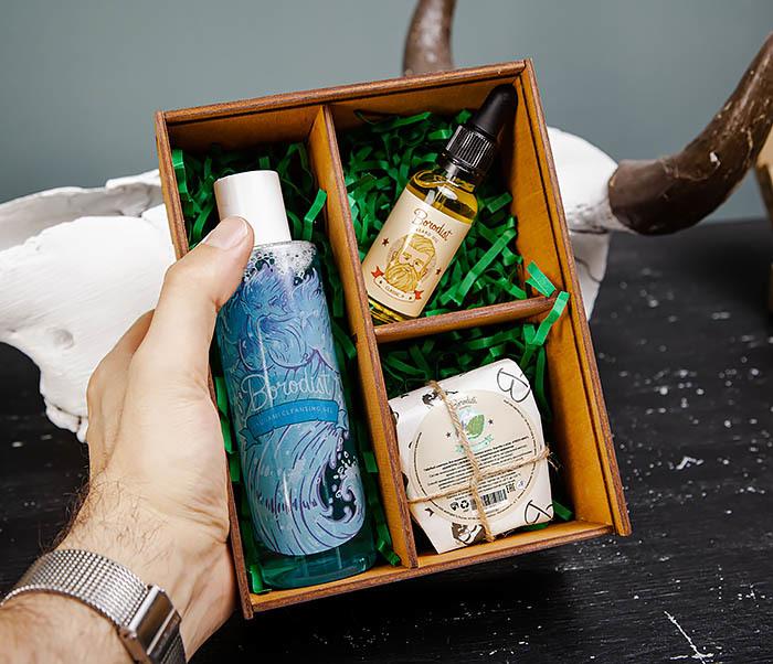 Набор средств для умывания и ухода за бородой от «Borodist» фото 06