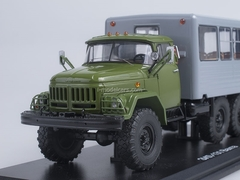 ZIL-131 shift work bus khaki-gray 1:43 Start Scale Models (SSM)