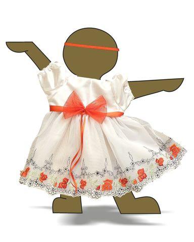 Платье праздничное - Демонстрационный образец. Одежда для кукол, пупсов и мягких игрушек.