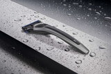 Бритва Bolin Webb X1, серебристая, черный акцент, Gillette Fusion (BW X1 ARG BLK)