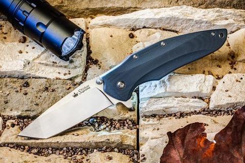 Складной нож Zorg AUS-8 Satin