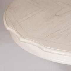 Стол овальный CHARLEVILLE-3654 — белый