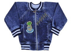 AD8222 куртка джинсовая ананас м