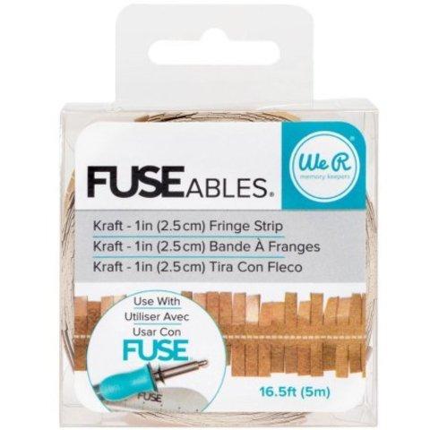 Лента FUSEables Decorative Tape -Fringe/Kraft