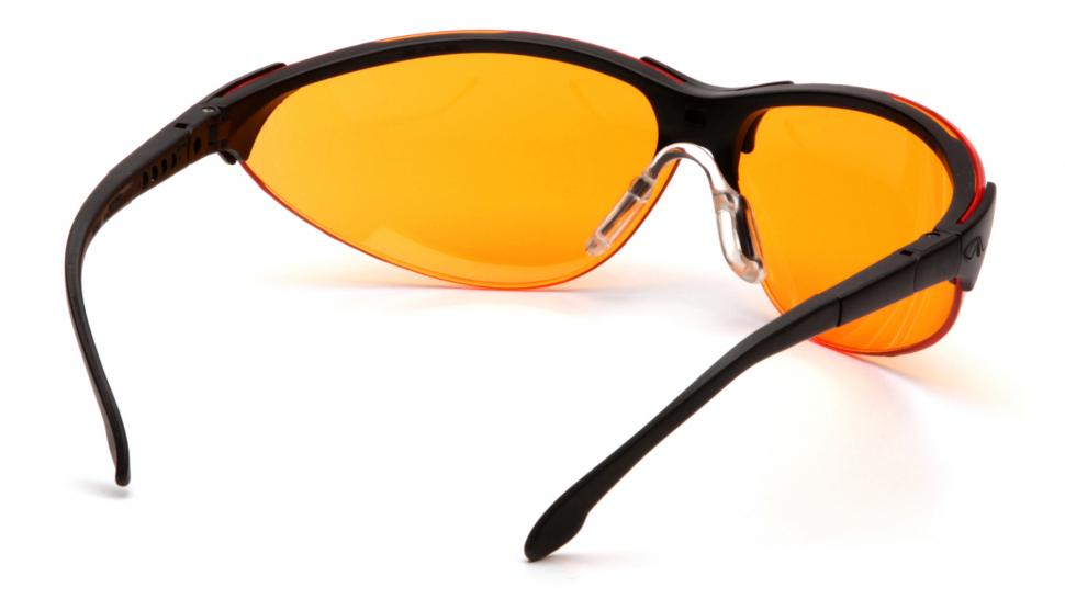 Очки баллистические стрелковые Pyramex Rendezvous SB2840S оранжевые 51%