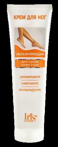 Iris Крем для ног Увлажняющий для сухой кожи стоп 100мл