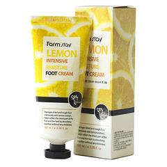Farmstay Lemon Intensive Moisture Foot Cream - Крем для ног смягчающий с экстрактом лимона