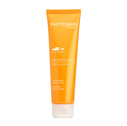 Phytomer Крем солнцезащитный SPF15 Solution Soleil Sunscreen Face and body 125мл