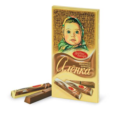 "Шоколад ""Алёнка"" в стиках 100г"