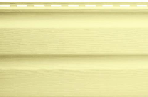 Виниловый сайдинг Альта Профиль лимонный 3000х230 мм
