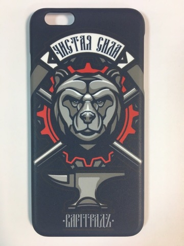 Кейс для смартфона Iphone 6 Plus индиго пластик