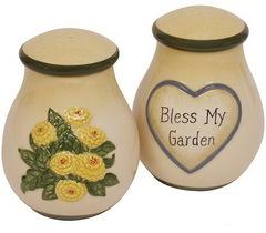 Набор солонка и перечница Blonder Home Country Garden