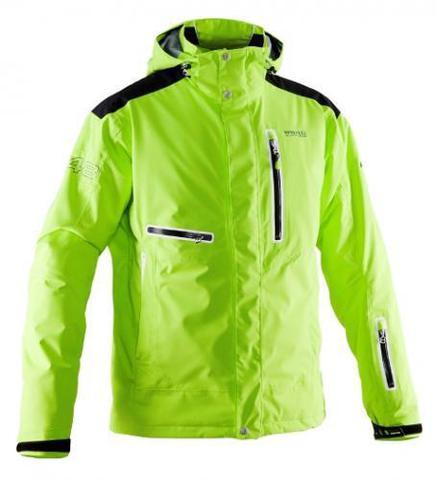 Мужская горнолыжная куртка 8848 Altitude Sason (lime)