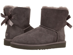 UGG Bailey Bow Mini Grey