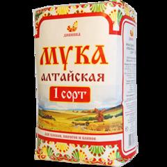 Мука пшеничная 1 сорт 5кг мешок Дивинка