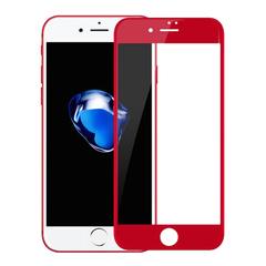 Защитное 3D-стекло для iPhone 7 и 8 Plus Red - Красное