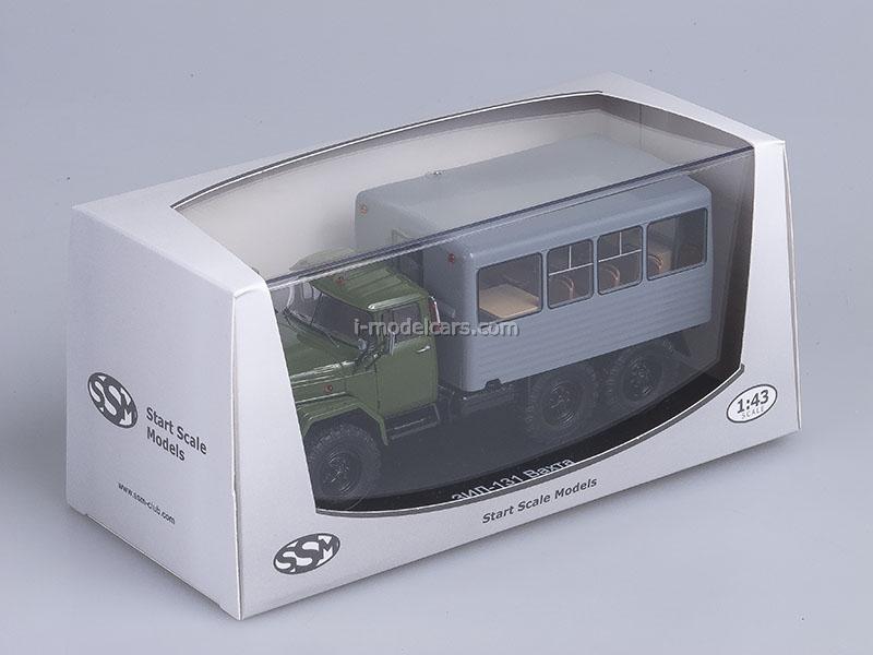ZIL-131 Watch Bus khaki-gray 1:43 Start Scale Models (SSM)