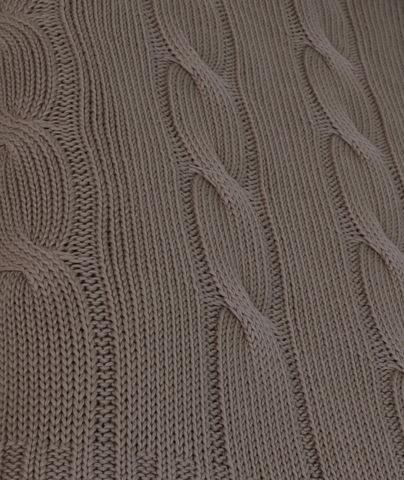 Элитная подушка декоративная Messina серая от Casual Avenue