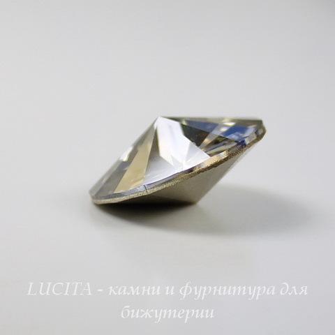 1122 Rivoli Ювелирные стразы Сваровски Crystal Silver Shade (18 мм)