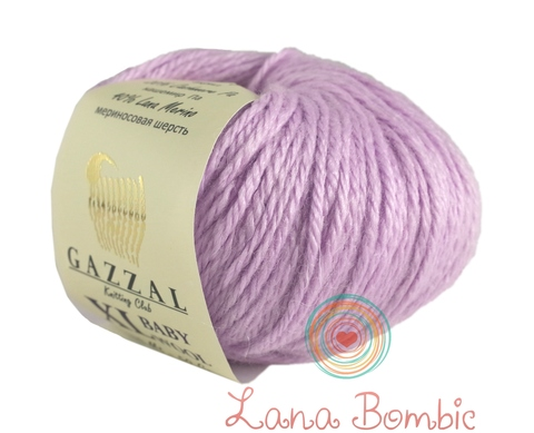 Пряжа Gazzal Baby Wool XL сиреневый 823