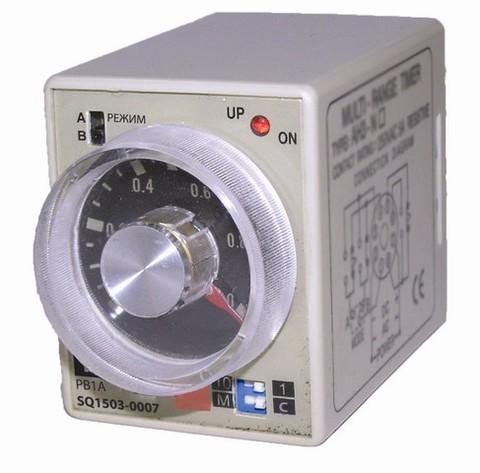 Реле времени РВ1A-2реж-1сек/10мин-5А-220В-8Ц TDM