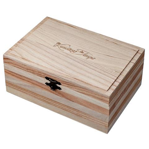 Деревянная подарочная коробка: 1 свеча 180 гр. и 1 диффузор 100 мл.