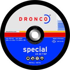 Абразивный отрезной диск Dronco AS 30 T-BF 230x2