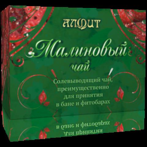 Чай для бани МАЛИНОВЫЙ ЧАЙ, смесь сухого растительного сырья для приготовления горячего напитка, 25ф/п*2г