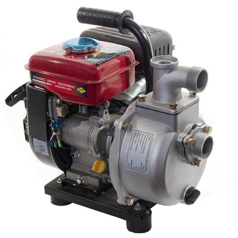 Мотопомпа бензиновая DDE PN40 (выход 40мм, 2.4л.c., напор 22м, 18куб.м/час, бак 1.6л, 19.5кг)