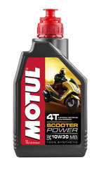 Моторное масло MOTUL Scooter Power 4T MB 10W30