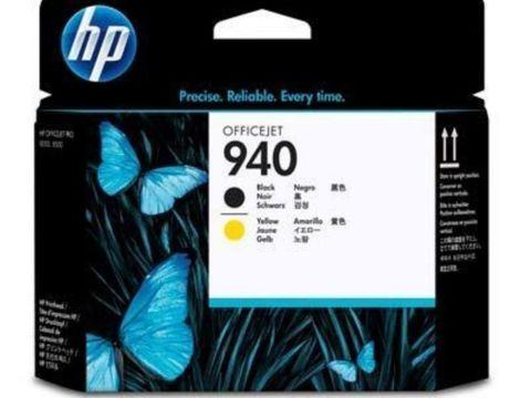 Печатающая головка HP №940 C4900A черная и желтая HP OfficeJet Pro 8000/8500