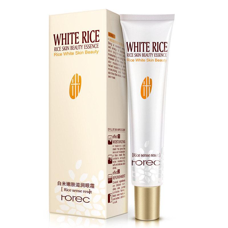 Rorec Крем для век с белым рисом White Rice Eye Cream, 20 г
