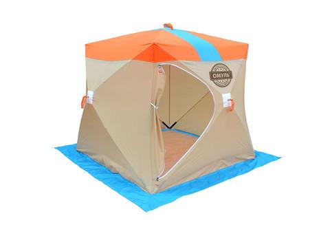 Омуль Куб 1 палатка для зимней рыбалки