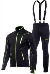 Утеплённый лыжный костюм Storm Speed Black мужской