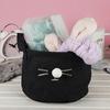 Корзина текстильная Meow Black