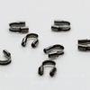 Защита ланки (тросика) от перетирания 5х4 мм (цвет - черный никель), 10 штук