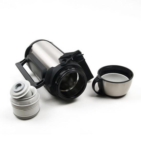 Термос универсальный (для еды и напитков) Tiger MHK-A200 XC (2 литра) серебристый