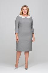 Платье Эвелина серый