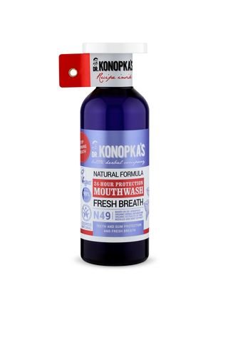 Dr.Konopka's Натуральный ополаскиватель для полости рта Защита 24 часа, 500 мл