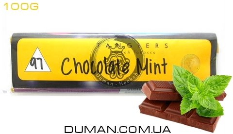 Табак Tangiers Chocolate Mint T97 (Танжирс Шоколад Мята)  Noir 100г